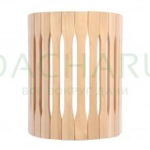 Абажур для светильника, настенный, липа, 25х16х30 см
