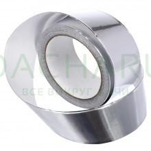 Алюминевая клейкая лента для термоизоляции 48мм х 25м