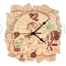 Часы «Час бане подаришь, три к жизни прибавишь» 23,5*24* 0,3 см