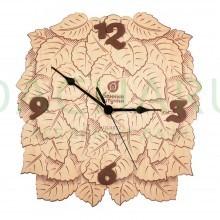 Часы «Листья» 23,5*24* 0,3 см