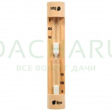 Часы песочные 28,8х6х4,5 см для бани и сауны