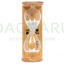 Часы песочные «Люкс» 6,5х9х19,5 см для бани и сауны