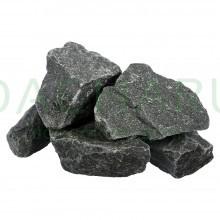 Камень «Габбро-Диабаз», колотый, мелкая фракция, для электропечей, в коробке по 20 кг