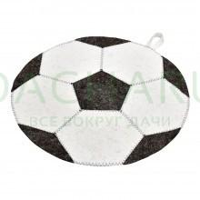 Коврик для сауны Футбольный мяч 45 см, войлок