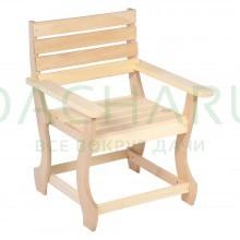 Кресло с фигурными ножками разборное 60*90 см