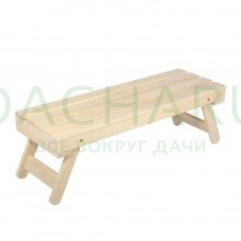 Лавочка складная 130х44х43 см (липа)