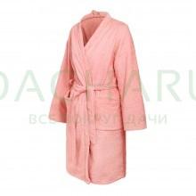 Махровый халат женский, цвет