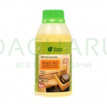 Масло для защиты полков для бани и сауны Чистая банька 0,5 л