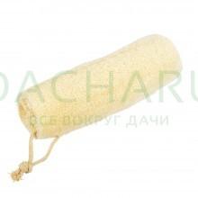 Мочалка из люфы, «Губка» натуральная 20 см