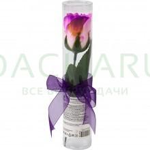 Мыльные цветы «Розы» в ПВХ тубе 1 шт.