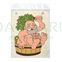 Панно войлочное «Дед» 24,5*30,5 см, войлок 100%