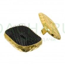 Расческа «Кристалл» пластиковая, массажная с крышкой, 9х6,7х4,4 см