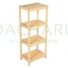 Стеллаж-этажерка 45х31х109 см, сосна