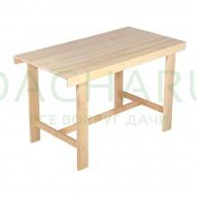 Стол разборный 120х80х70см, шлифованный