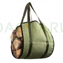 Сумка для переноски дров 35х90см, ручки 20 см