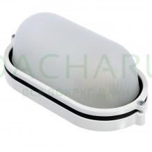 Светильник электрический для бани, металлический, овальный, влагозащищенный, термостойкий