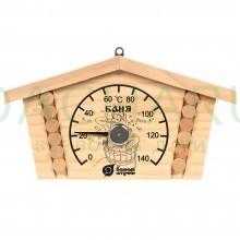 Термометр «Избушка» 23х12,5х2,5 см для бани и сауны