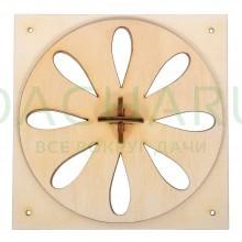 Вентиляционная задвижка «Пропеллер» 13*13 см для бани и сауны