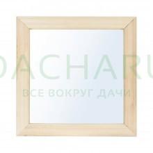Зеркало квадратное 30*30 см, липа