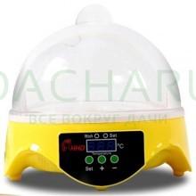 Мини-инкубатор на 7 яиц «HHD 7» с терморегулятором