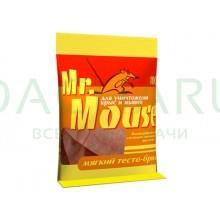 Мягкий тесто-брикет для уничтожения мышей и крыс 100г