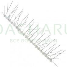 Стальные антиприсадочные шипы от птиц «SITITEK Барьер-Премиум 5 « (50 см, 50 шипов, 5 рядов)