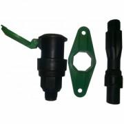 Быстросъемный соединитель 3/4 дюйма с крепежной планкой (QV0134)