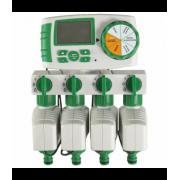 Четырех зонный комплект автоматического полива: GreenHelper (GA-325-4)
