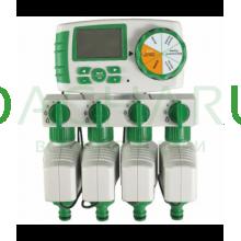Четырех зонный комплект автоматического полива: (GA-325-4)