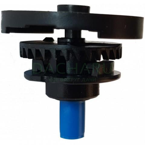 Двойной разбрызгиватель круговой, 1/2 дюйма нар, синий 196,7л/ч 2,5bar 6,5-7,0м (SP3202)