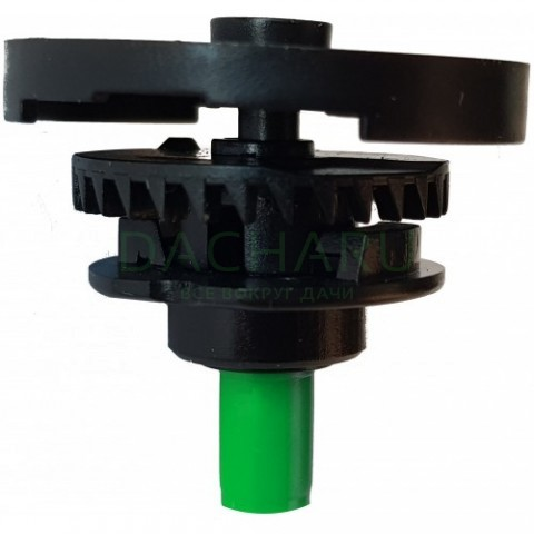 Двойной разбрызгиватель круговой, 1/2 дюйма нар, зеленый 291,7л/ч 2,5bar 7,0-7,5м (SP3203)