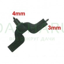 Дырокол для капельниц 3мм и 4мм (PD010304)
