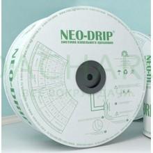 Капельная лента эмиттерная Neo-Drip P16мм 6mil, шаг 20, 1,35л/ч (Бухта 500м)