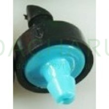 Капельница компенсированная, 1/4 дюйма, 10л/ч - 0,8-3,0 bar (PCT0610A)