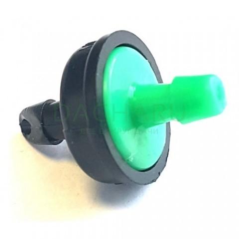 Капельница компенсированная, 1/4 дюйма, 4л/ч - 0,8-3,0 bar (PCT0604A)