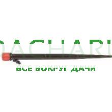 Капельница регулируемая на стойке 28см, 1/4 дюйма, 0-70 л/ч - 1 bar (AOD0170-28H)