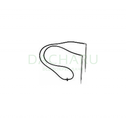Комплект: 2 Капельницы Г-образные с адаптером и трубкой (21522)
