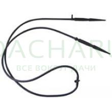 Комплект: 2 Капельницы прямые с адаптером и трубкой (2121)