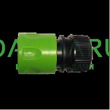 Коннектор быстросъемный, аквастоп, для шланга 1/2 дюйма-5/8 дюйма (HC0325)