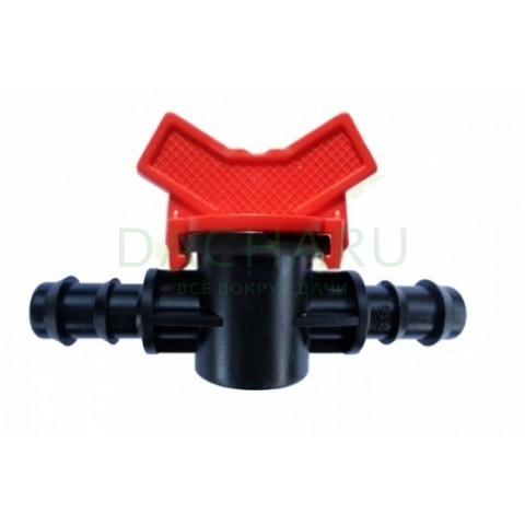 Кран для трубки 16мм (MV0116)