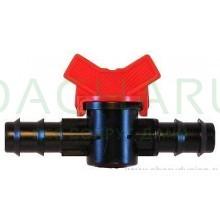 Кран для трубки 25мм (MV0125)