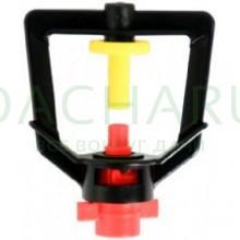 Микроджет, красный 105,0л/ч 2,5bar, радиус 1,3м (MJ1204)