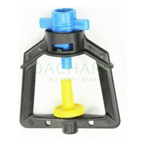 Микроджет, подвесной, синий 55,0л/ч 2,5bar, радиус 1,1м (MJ1222)
