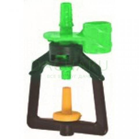 Микроджет, подвесной, зеленый 80,0л/ч 2,5bar, радиус 1,3м (MJ1213)