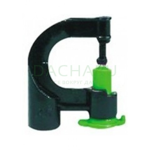 Микроджет, зеленый 100,6л/ч 2,5bar, радиус 1,9м (MJ4004)