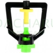 Микроджет, зеленый 80,0л/ч 2,5bar, радиус 1,2м (MJ1203)