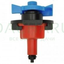 Микроспринклер, красный, 80л/ч 2bar, 360гр (MS8180)