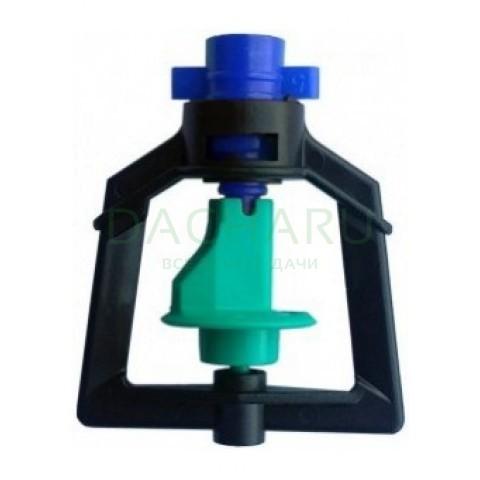 Микроспринклер, подвесной, синий 50л/ч 2bar, радиус 3,1м (MS1102A)