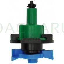 Микроспринклер, подвесной, зеленый 34л/ч 2bar, 360гр (MS8030)