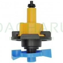 Микроспринклер, подвесной, желтый, 66л/ч 2bar, 360гр (MS8060)